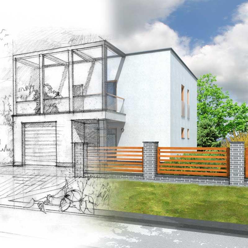 Mauerziegel sorgen für eine wartungsarme Gebäudehülle und wohngesunde Räume